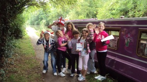 Belarus children's visit to Funion Bargee