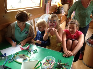 Making dragonflies & butterflies